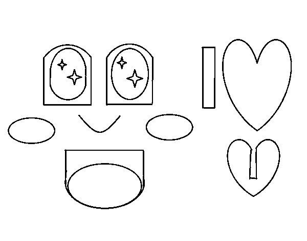 Disegno di Amore felice da Colorare - Acolore.com