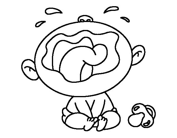 Risultati immagini per bimbi pianto disegni