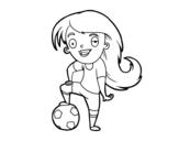 Dibujo de Calcio femminile
