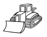 Disegno di Camion pala da colorare
