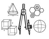 Disegno di Disegno tecnico da colorare