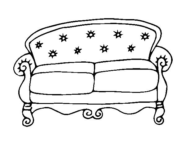 Risultati immagini per divano  disegno