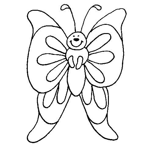 Disegno Di Farfalla 15 Da Colorare