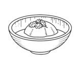 Disegno di Gelato al tè da colorare