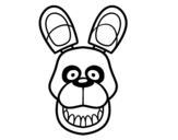 Disegno di Golden Freddy di Five Nights at Freddy's da colorare