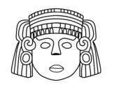 Dibujo de La maschera messicana