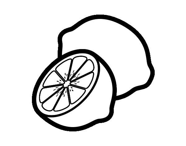 Limoni Disegno: Disegno Di Limoni Da Colorare