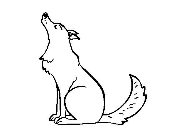Волк детские картинки 5