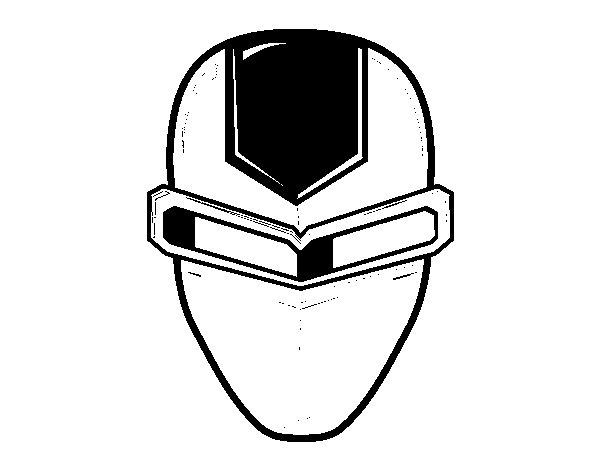 Disegno di maschera ironman da colorare for Maschera di iron man da stampare e colorare