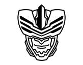 Disegno di Maschera uomo mosca da colorare