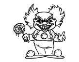 Dibujo de Pagliaccio diabolico