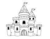 Disegno di Principesse Castello da colorare
