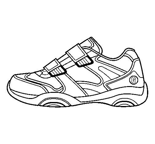 disegni di scarpe da ginnastica