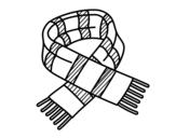 Disegno di Scarpa di strisce da colorare
