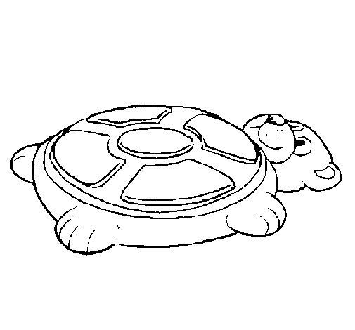 Disegno di Simone sotto forma di orso da Colorare