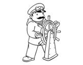 Disegno di Skipper da colorare