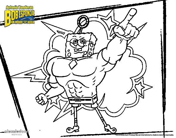 Disegno di SpongeBob - Invincibolla da Colorare - Acolore.com