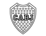 Dibujo de Stemma del Boca Juniors