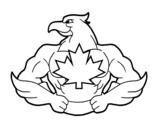 Disegno di Super uccello da colorare