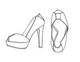 Dibujo de Tacchi piattaforma