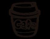 Disegno di Tazza di caffè da colorare
