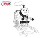Disegno di Thomas in corso da colorare