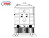 Disegno di Toby de Il Trenino Thomas da colorare