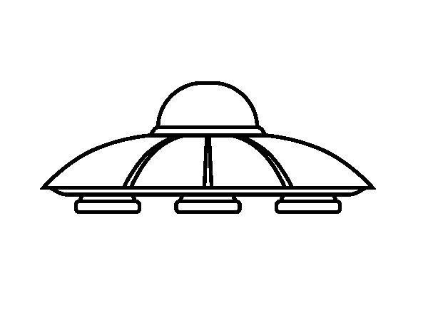 Disegno di UFO aliens da Colorare