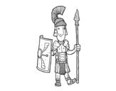 Dibujo de Un soldato romano