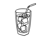 Dibujo de Un vetro di soda