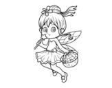 Dibujo de Una fata magica