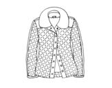Disegno di Una giacca da colorare