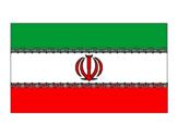 Disegno Iran pitturato su Emma