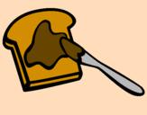 Disegno Pane tostato pitturato su lg4e