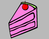 Disegno Torta di mele Información pitturato su niky