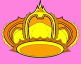 Disegno Corona pitturato su Giulia
