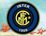 Disegno Stemma del FC Internazionale Milano pitturato su _matty4_