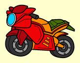 Disegno Moto dello sport pitturato su _matty4_
