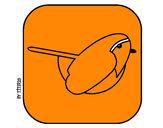 Disegno Uccello II pitturato su GABRIEL17