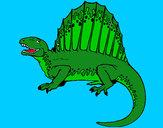 Disegno Spinosauro  pitturato su gabry73
