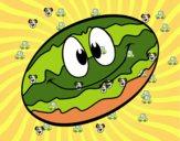 Melone sorridente