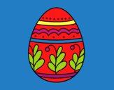 Uovo di Pasqua mandala