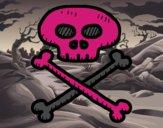 Teschio di pirata