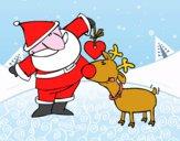 Babbo Natale e Rudoplh