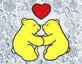 Orsi polari amore