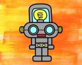 Robot con luce