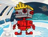 Robot con moicana