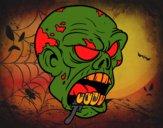 Testa di zombie