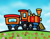Treno con vagone
