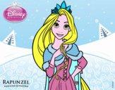 Disegno Rapunzel - Principessa Rapunzel pitturato su Alessia02